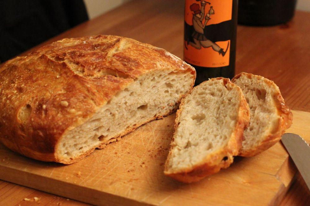 Eltefritt brød med olivenolje