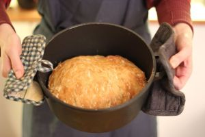 No knead bread - holder