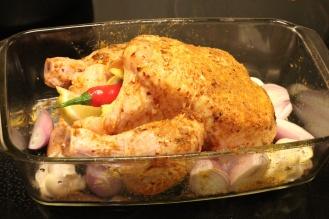 Kylling før ovnen