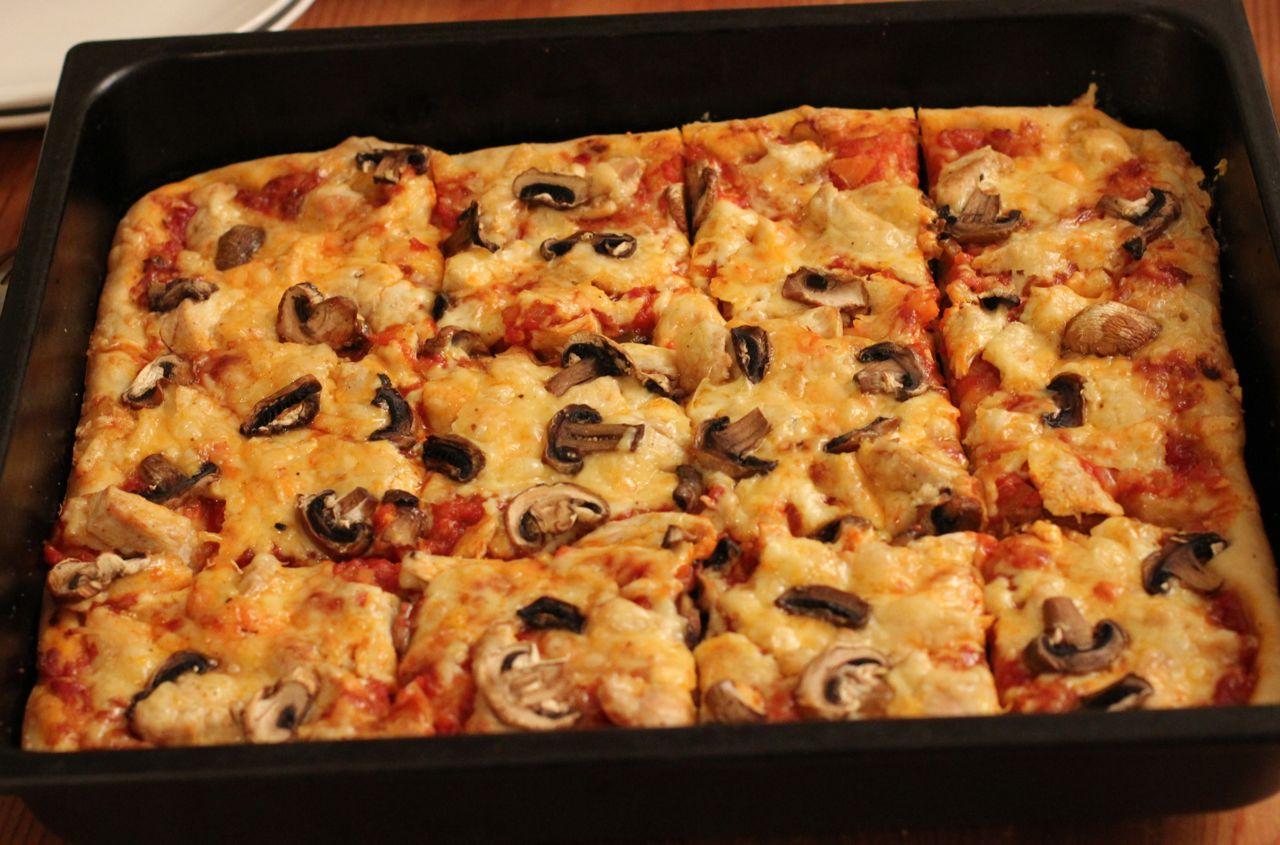 spelt pizzabunn langpanne